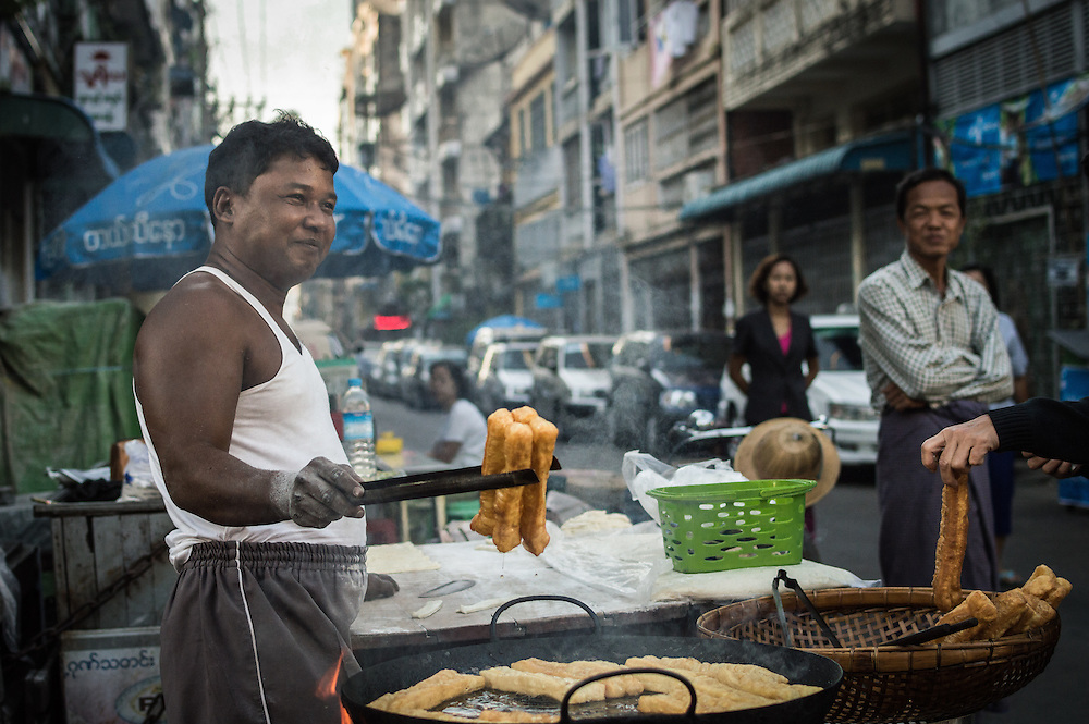 Deep Fried Early Morning |  Yangon, Myanmar