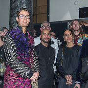 NLD/Amsterdam/20191114 - Uitreiking Esquires Best Geklede Man 2019, genomineerden Pieter de Waard, Splinter Chabot, Frank van der Lende, Kenneth Perrez