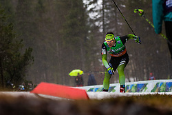 Miha Simenc (SLO) during the Ladies sprint free race at FIS Cross Country World Cup Planica 2019, on December 21, 2019 at Planica, Slovenia. Photo By Grega Valancic / Sportida