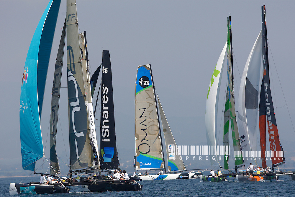 iSHARES CUP 2009-HYERES-COPYRIGHT : THIERRY SERAY- FLEET-ILLUSTRATION