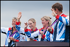 Zara Phillips shows off her Olympic Medal 2-9-12