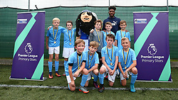 Bristol Rovers host a football tournament at SGS College with a special guest appearance from Ellis Harrison of Bristol Rovers - Mandatory by-line: Robbie Stephenson/JMP - 10/10/2017 - FOOTBALL - SGS College - Bristol, England - Bristol Rovers Tournament