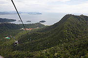 Panorama Langkawi. The SkyCab cable car.
