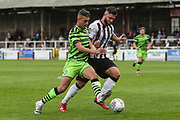 Forest Green Rovers Taylor Allen(12) runs forward during the Pre-Season Friendly match between Bath City and Forest Green Rovers at Twerton Park, Bath, United Kingdom on 27 July 2019.