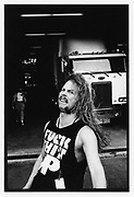 James Hetfield of Metallica,New York <br />