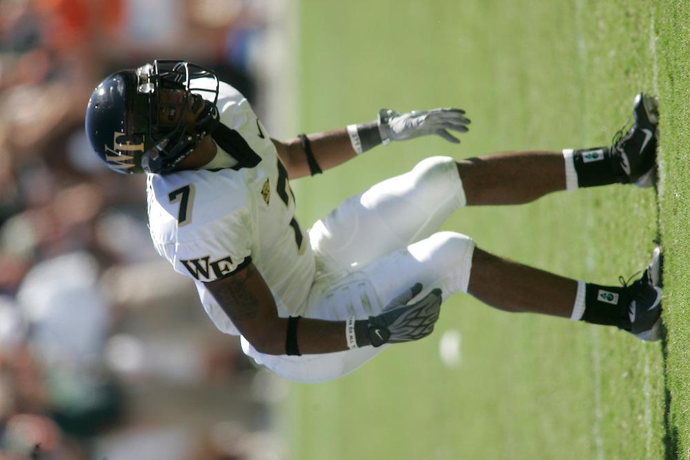 2004 WAKE FOREST UNIVERSITY Football @ Miami
