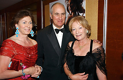 Left to right, HUGH & EMILE VAN CUTSEM and MRS DAVID ASTOR at the Boodles Boxing Ball in aid of the sports charity Sparks  organised by Jez lawson, James Amos and Charlie Gilkes held at The Royal Lancaster Hotel, Lancaster Terrae London W2 on 3rd June 2006.<br /> <br /> NON EXCLUSIVE - WORLD RIGHTS