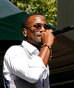 Q performs at the 4th Annual Central Park SummerStage R&B Fest at Rumsey Playfield on August 12, 2012.