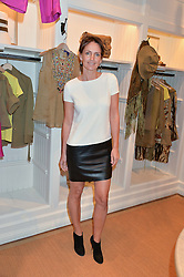 SAFFRON ALDRIDGE at a party to celebrate the publication of India Hicks: Island Style hosted by Princess Marie-Chantal of Greece, Saffron Aldridge and Amanda Brooks has held at Ralph Lauren, 105-109 Fulham Road, London on 28th April 2015,