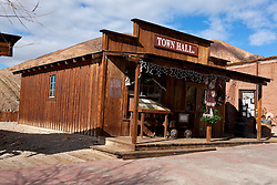Town Hall Building, Calico Ghost Town, Calico, California, United States of America