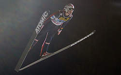 Tom Hilde (NOR) competes during First round of the FIS Ski Jumping World Cup event of the 58th Four Hills ski jumping tournament, on January 6, 2010 in Bischofshofen, Austria. (Photo by Vid Ponikvar / Sportida)