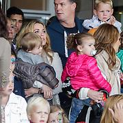NLD/Amsterdam/20120604 - Vertrek Nederlands Elftal voor EK 2012, Charlotte-Sophie Heitinga - Zenden