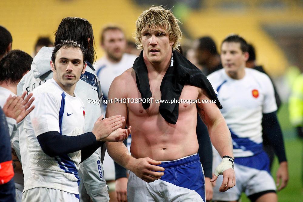 Remy Martin, <br />2nd International Rugby Union Test Match, All Blacks v France. Westpac Stadium, Wellington, New Zealand. Saturday 20 June 2009. Photo: Andrew Cornaga/PHOTOSPORT