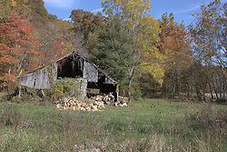 11 Oct 2011: dilapidated barn. Rural Indiana, specifically in or close to Brown County.<br />