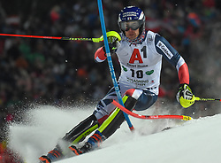 "29.01.2019, Planai, Schladming, AUT, FIS Weltcup Ski Alpin, Slalom, Herren, 1. Lauf, im Bild Dave Ryding (GBR) // Dave Ryding of United Kingdom in action during his 1st run of men's Slalom ""the Nightrace"" of FIS ski alpine world cup at the Planai in Schladming, Austria on 2019/01/29. EXPA Pictures © 2019, PhotoCredit: EXPA/ Erich Spiess"