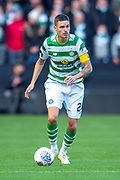 Mikael Lustig (#23) of Celtic FC during the Betfred League Cup semi-final match between Heart of Midlothian FC and Celtic FC at the BT Murrayfield Stadium, Edinburgh, Scotland on 28 October 2018.