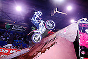 Several observed trials riders competed at the 2007 Maxxis AMA Endurocross at the Lazy E Arena in Guthrie, Oklahoma.  Event was won by David Knight #101 on KTM