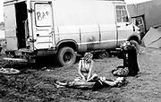 Spiritual Healing, Free Party Scene, 1990's