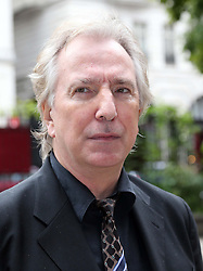 Alan Rickman arriving for a memorial service for the actor Richard Griffiths at St.James's Church, Piccadilly, London, Sunday, 22nd September 2013. Picture by Stephen Lock / i-Images