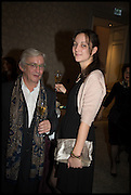 MARC CEDAT; CHARLOTTE VIAL The Old Russian New Year's Eve Gala. In aid of the Gift of Life foundation. Savoy Hotel, London. 13 January 2015.