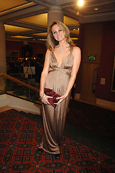 BRYONY DANIELS at a Gala dinner in aid of Chickenshed held at the Guildhall, City of London on 29th October 2007.<br />