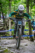 THIES Sabine (RSA) at the Mountain Bike World Championships in Mont-Sainte-Anne, Canada.