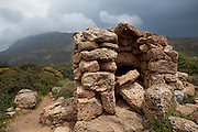 Guardhouse at Ancient Falassarna, Crete