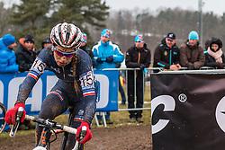 Pauline Ferrand Prevot (FRA), Women Elite, Cyclo-cross World Championships Tabor, Czech Republic, 31 January 2015, Photo by Pim Nijland / PelotonPhotos.com