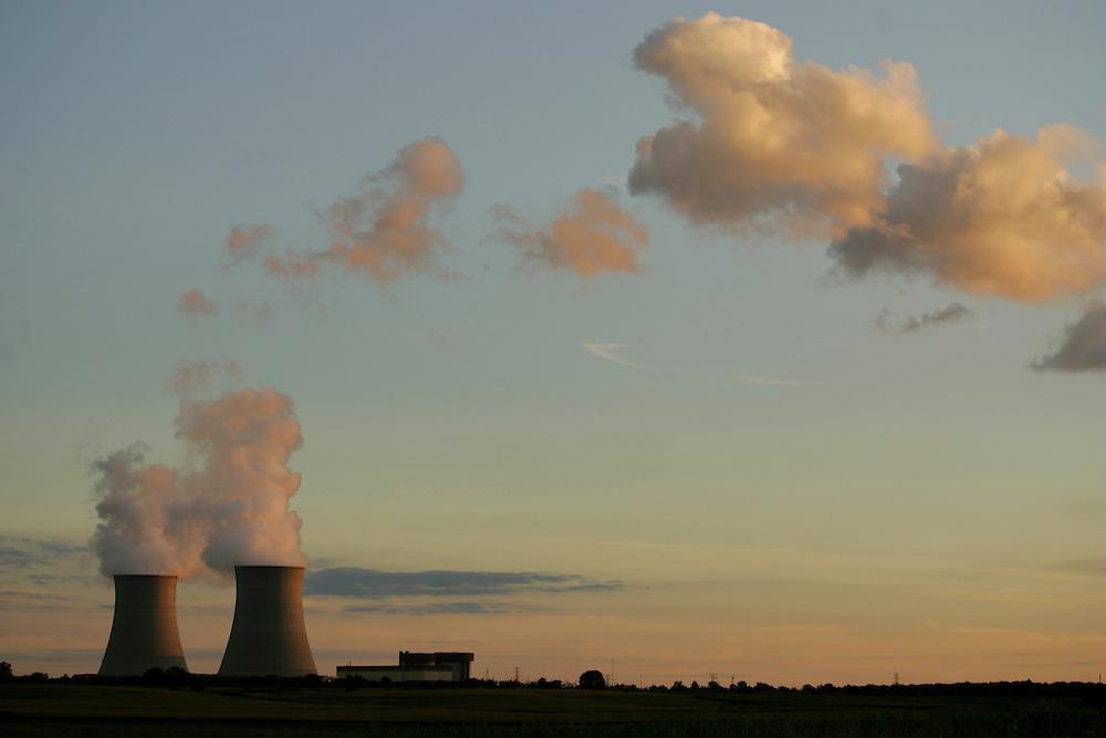 Exelon's nuclear power plant in rural Byron, Illinois.