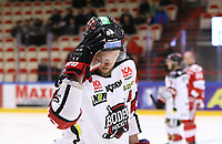 2020-03-07   Ljungby, Sverige: Bodens HF (88) Per Savilahti-Nagander rättar till hjälmen under matchen i Hockeyettan mellan IF Troja/Ljungby och Bodens HF i Ljungby Arena ( Foto av: Fredrik Sten   Swe Press Photo )<br /> <br /> Nyckelord: Ljungby, Ishockey, Hockeyettan, Ljungby Arena, IF Troja/Ljungby, Bodens HF, fstb200307, playoff, kval