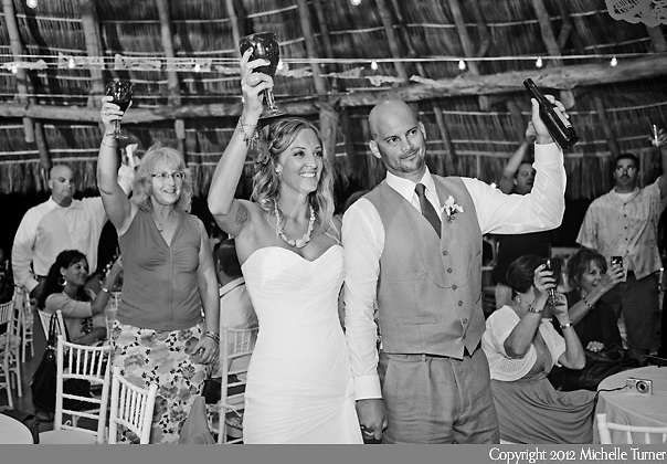 Don Pedro's Palapa wedding and Sayulita Wedding Photography.  Images by Puerto Vallarta Wedding Photographer Michelle Turner.