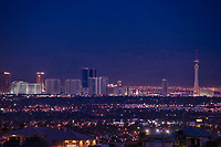 Las Vegas Strip Skyline @ Dusk