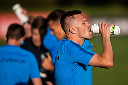 Josip Ilicic during practice session of Slovenian national football team in national football center in Brdo, 2nd of September, 2019, NNC Brdo. Photo by Grega Valancic / Sportida