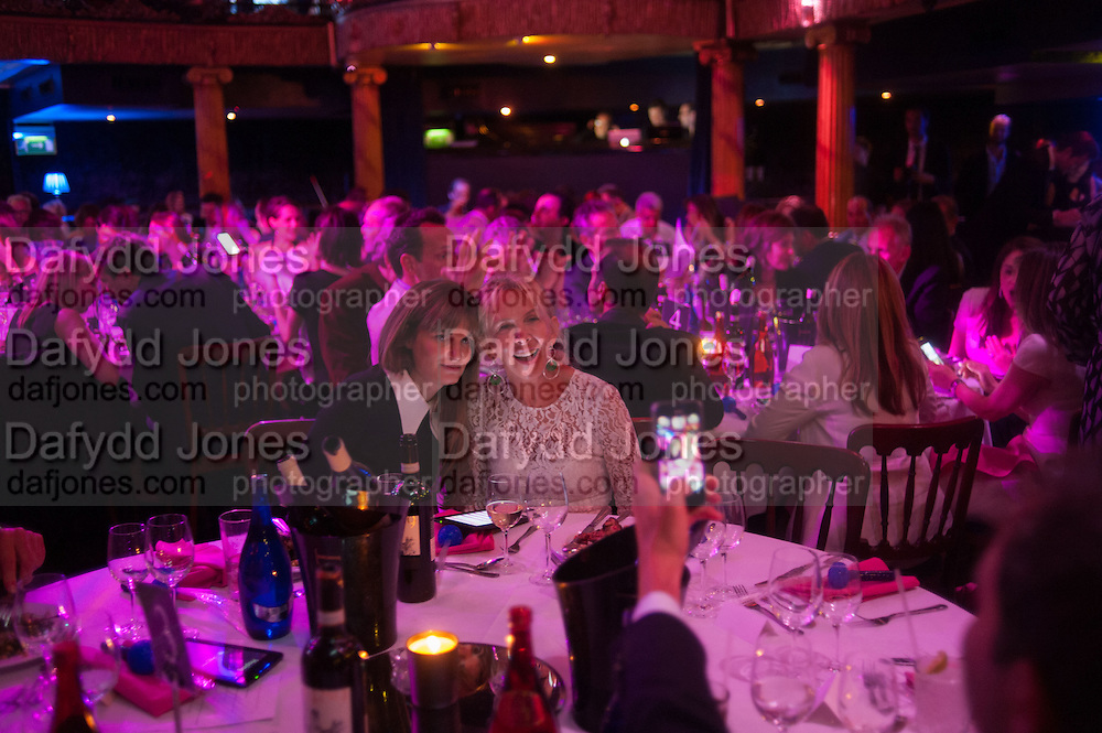 JEMIMA KHAN; TRUDIE STYLER, The Hoping Foundation  'Rock On' benefit evening for Palestinian refugee children.  Cafe de Paris, Leicester Sq. London. 20 June 2013