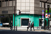 Tokyo, ginza - Some people in Ginza street