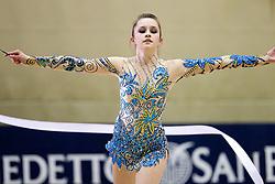 Daria Mukhina of Canada during 24th MTM International Youth Tournament in Rhythmic Gymnastics organized by Narodni dom Ljubljana, on April 9, 2011 in Arena Krim Galjevica, Ljubljana, Slovenia.  (Photo By Vid Ponikvar / Sportida.com)