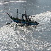 Fishing boat, South Coast.