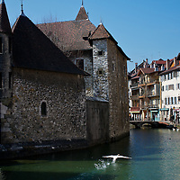 Annecy, France old jailhouse