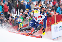 26.01.2020, Streif, Kitzbühel, AUT, FIS Weltcup Ski Alpin, Slalom, Herren, 2. Lauf, im Bild Simon Maurberger (ITA) // Simon Maurberger of Italy in action during his 2nd run in the men's Slalom of FIS Ski Alpine World Cup at the Streif in Kitzbühel, Austria on 2020/01/26. EXPA Pictures © 2020, PhotoCredit: EXPA/ Johann Groder
