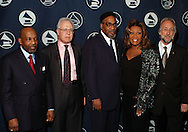 PHILADELPHIA - APRIL  10: From left, Leon Huff, Larry Magid, Kenny Gamble, Patti LaBelle, and Recording Academy President Neil Portnow pose backstage at the Recording Academy Honors 2006 April 10, 2006 in Philadelphia, Pennsylvania. The Philadelphia Chapter held the event to salute outstanding individuals and institutions for their contributions to the creative community and the community-at-large. (Photo by William Thomas Cain/Getty Images)