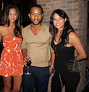Christine Teigen, John Legend and Michelle Rodriguez..Edeyo Third Anniversary and Unik Ernest Birthday Party..Bowery Hotel..New York, NY, USA..Wednesday, June 30, 2010..Photo ByiSnaper.com/ CelebrityVibe.com.To license this image please call (212) 410 5354; or Email:CelebrityVibe@gmail.com ;.website: www.CelebrityVibe.com.