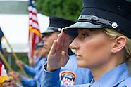 FDNY EMS 9/11 Memorial service at BOT