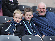 Dundee fans  - Dundee United v Dundee at Tannadice Park in the SPFL Premiership<br /> <br />  - © David Young - www.davidyoungphoto.co.uk - email: davidyoungphoto@gmail.com