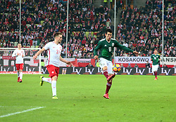 November 13, 2017 - Gdansk, Poland - Tomasz Kedziora and Hirving Lozano during the international friendly soccer match between Poland and Mexico at the Energa Stadium in Gdansk, Poland on 13 November 2017  (Credit Image: © Mateusz Wlodarczyk/NurPhoto via ZUMA Press)