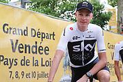 Chris Froome ( Team Sky ) during the Tour de France 2018, Teams presentation on July 5, 2018 in La Roche-sur-Yon, France - Photo George Deswijzen / Pro Shots / ProSportsImages / DPPI