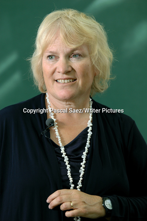 British writer and journalist Libby Purves at the Edinburgh International Book Festival 2007. <br /> <br /> Copyright Pascal Saez/Writer Pictures<br /> <br /> contact +44 (0)20 8241 0039<br /> sales@writerpictures.com<br /> www.writerpictures.com