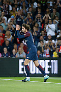 Adrien Rabiot (psg) during the French championship L1 football match between Paris Saint-Germain (PSG) and Toulouse Football Club, on August 20, 2017, at Parc des Princes, in Paris, France - Photo Stephane Allaman / ProSportsImages / DPPI