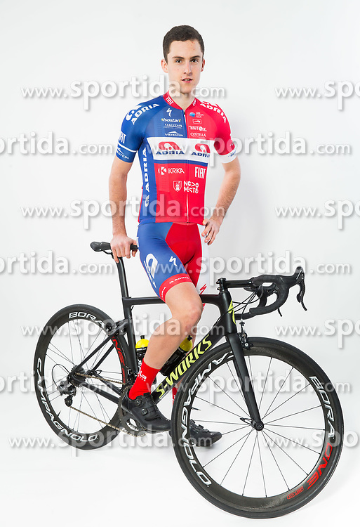 Gorazd Per during photo session of Cycling Team KK Adria Mobil, on January 22, 2018 in Novo Mesto, Novo Mesto, Slovenia. Photo by Vid Ponikvar / Sportida