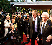 MICHAEL DOUGLAS; KIRK DOUGLAS, Vanity Fair Oscar night party hosted by Graydon Carter.  Sunset  Tower Hotel, West Hollywood. 22 February 2009.  *** Local Caption *** -DO NOT ARCHIVE-© Copyright Photograph by Dafydd Jones. 248 Clapham Rd. London SW9 0PZ. Tel 0207 820 0771. www.dafjones.com.