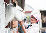 20/08/2015  repro free Grace McDonagh and C-more Cashel at the Connemara Pony Show 2015 in Clifden Co. Galway. Photo:Andrew Downes